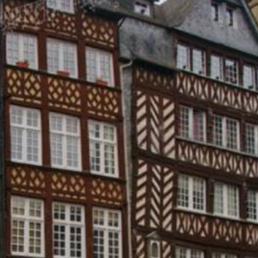 Maison en colombage à Rennes