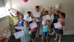 Remise de diplôme aux enfants Kidiklik