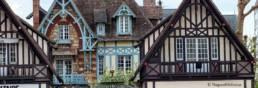 Deauville et ses maisons de plage normandie