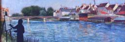Lagny-sur-marne peinture balade baludik