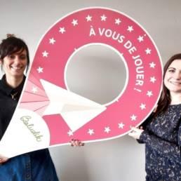 Photo de Vanessa et Amandine nouvelles à Baludik
