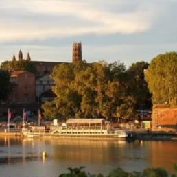 Photo de la balade déouverte à Toulouse avec La garonne