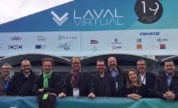 Photo du Salon Laval Virtual