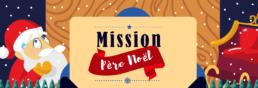 Visuel Mission Père Noël jeu de piste clé en main