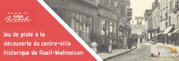 photo du centre-ville historique de Rueil-Malmais